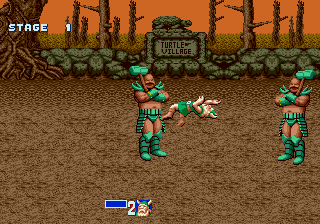 Golden Axe - Battle  -  - User Screenshot