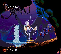 Earthworm Jim 2 - Misc Bonus teleporter -  - User Screenshot