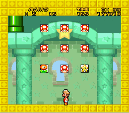 New Retro Mario Bros - Location  - Secret. World 4... no saves... DAMNIT! - User Screenshot