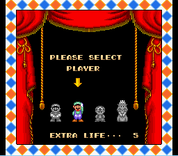 Super Mario All-Stars - Character Select  - SMB 2 - User Screenshot