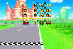 Mario Kart - Super Circuit - My score - User Screenshot