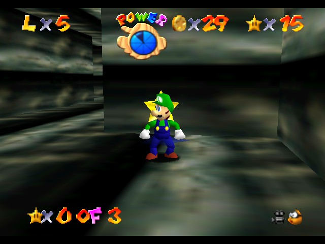 Super Mario 64 - The Missing Stars - Location  - something is wrong here - User Screenshot