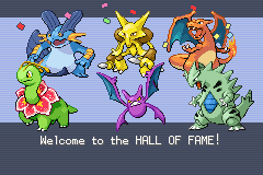 Pokemon Shiny Gold X Version - Battle  - yeah thats my killer team - User Screenshot