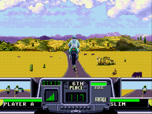 Road Rash 3 - super high jump - User Screenshot