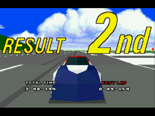 Virtua Racing Deluxe - Misc  - almost... - User Screenshot