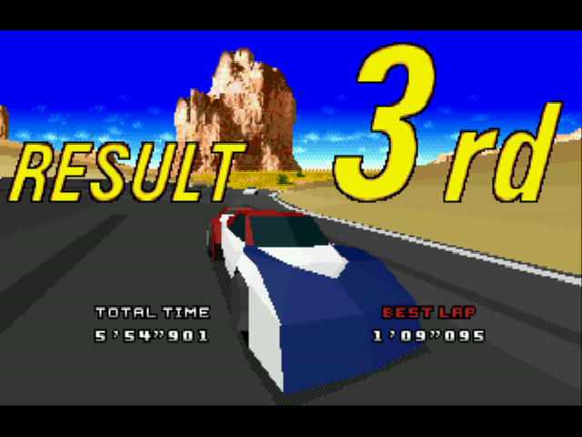 Virtua Racing Deluxe - Misc  - weee - User Screenshot