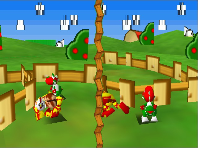 Mario Party 3 - Mini-Game  - Uhhh??? I got no comment. - User Screenshot