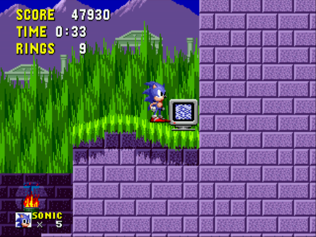 Sonic the Hedgehog - Misc Marble ZOMG - GUY
