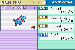 rock slide pokemon