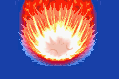 Pokemon Mystery Dungeon - Red Rescue Team - Cut-Scene  - giant meteor! - User Screenshot