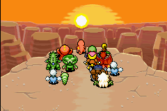 Pokemon Mystery Dungeon - Red Rescue Team - Cut-Scene  - rising into the sky... - User Screenshot