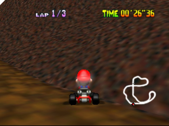 Mario Kart 64 - Misc MMMMM - choco is yum yum - User Screenshot