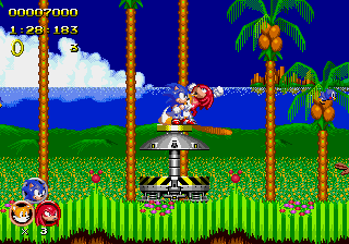 Sonic 2 Heroes - Misc  - Lol knuckles - User Screenshot