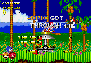 Sonic 2 Heroes - Level Green Hill zone 2 -  - User Screenshot