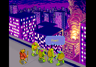 Donatello -Cut-Scene :lets kick some shell boys - User Screenshot
