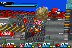 Sonic Battle - is amy holding that rock? - User Screenshot