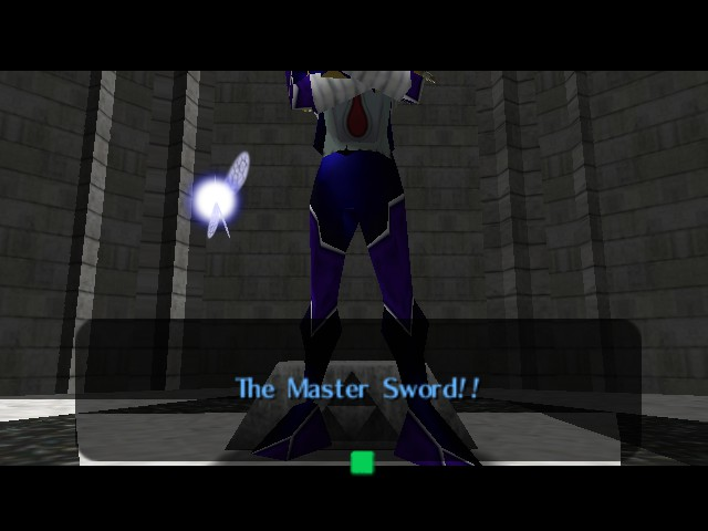 The Legend of Zelda - Ocarina of Time (Debug Edition) - Misc Glitch - Sheik