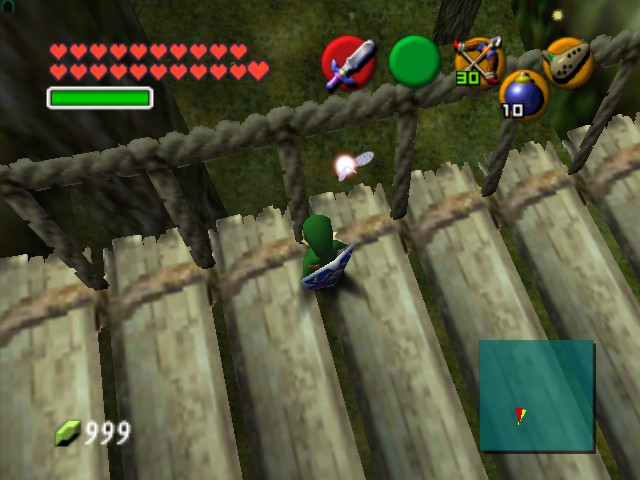 The Legend of Zelda - Ocarina of Time (Debug Edition) - Cut-Scene  - Screw you, Navi! I found a new fairy! - User Screenshot