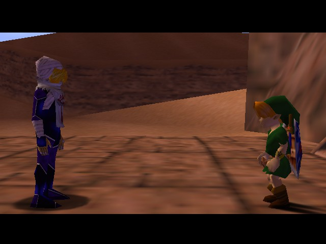 The Legend of Zelda - Ocarina of Time (Debug Edition) - Cut-Scene  - I think I messed up the timeline... - User Screenshot