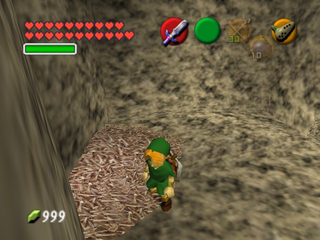 The Legend of Zelda - Ocarina of Time (Debug Edition) - Misc Glitch - BOOYAH 21 HEARTS!!! - User Screenshot