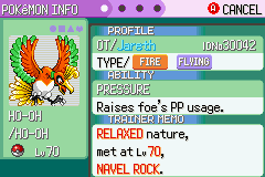 Pokemon Rebirth - Character Profile  - another caught in a pokeball! - User Screenshot