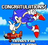 Sonic the Hedgehog - Pocket Adventure - I got the Last Emerald and True  Ending - User Screenshot
