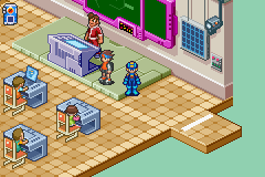 Megaman Battle Network 6 Cybeast Gregar - Location  - Megaman in the real world - User Screenshot