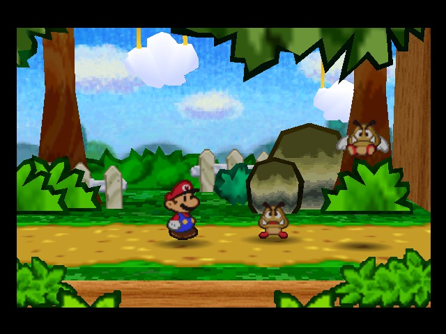 Paper Mario - Battle  - he had red bull - User Screenshot