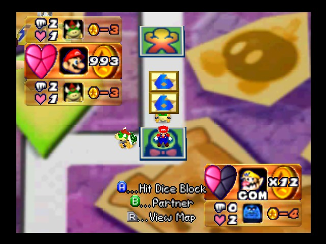 Mario Party 3 - Character Profile  - Full of Coins - User Screenshot