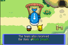 Pokemon Mystery Dungeon - Red Rescue Team - Cut-Scene  - Woah What?!? - User Screenshot