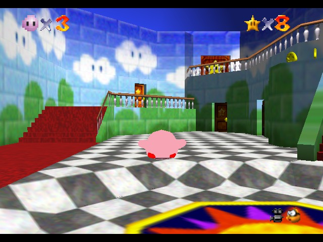 Super Mario 64 - Kirby Edition - Misc  - Don