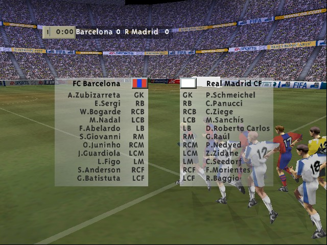 FIFA 99 - Level  - My El Clasico - User Screenshot