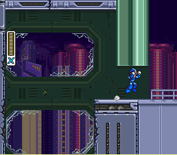Mega Man X3 - Level  - Lets do this... - User Screenshot