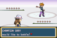 Pokemon Fire Red - Battle  - I always knew it