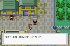 Pokemon Ash Gray (beta 3.61) - Location asylum entrance - I got nothing.... - User Screenshot