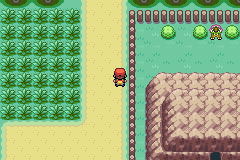 Pokemon Ultra Violet (Beta) - Location  - Route 2: Anyone notice anything new? - User Screenshot