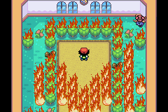 Pokemon Ash Gray (beta 3.61) - Mini-Game  - Fire - User Screenshot
