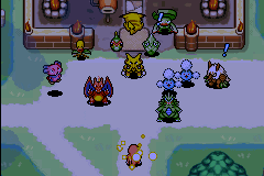 Pokemon Mystery Dungeon - Red Rescue Team - Ending  - Hi guys - User Screenshot