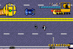 Grand Theft Auto Advance - Level  - being chased by a chinese guy - User Screenshot
