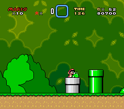Super Mario World - Level  - 10 lives  - User Screenshot