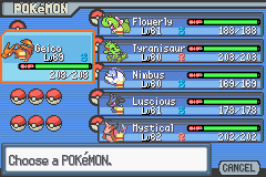 Pokemon Light Platinum - After Elite Four - User Screenshot
