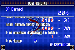 Yu-Gi-Oh! GX - Duel Academy - Beating Chazz in five turns - User Screenshot