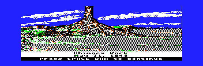 The Oregon Trail - Misc  - Chimney Rock - User Screenshot