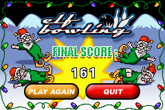 Elf Bowling 1 & 2 - Misc  - My high score so far! - User Screenshot