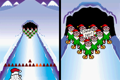 "Elf Bowling 1 & 2 - Level Elf Bowling - Saying ""Santa Sux"" = no presents for you! - User Screenshot"