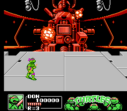 Donatello -Ending :Uh-oh this place is going to blow! - User Screenshot