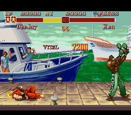 Super Street Fighter II - The New Challengers - I hate Ken! - User Screenshot