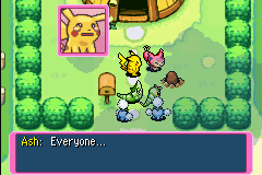 Pokemon Mystery Dungeon - Red Rescue Team - Cut-Scene  - I LOVE THIS GAME ~ - User Screenshot