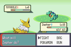 Pokemon Tiberium - Battle  - Shiny!!! - User Screenshot