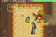 Pokemon Mystery Dungeon - Red Rescue Team - Battle  - Anyone else seeing tripple? - User Screenshot